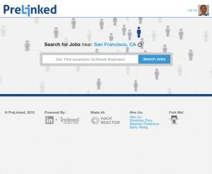 PreLinked_homepage